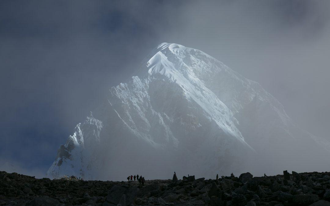 Mount Everest Basläger Hösten 2021