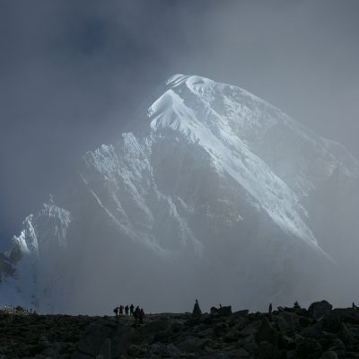 Mount Everest Basläger Våren 2022
