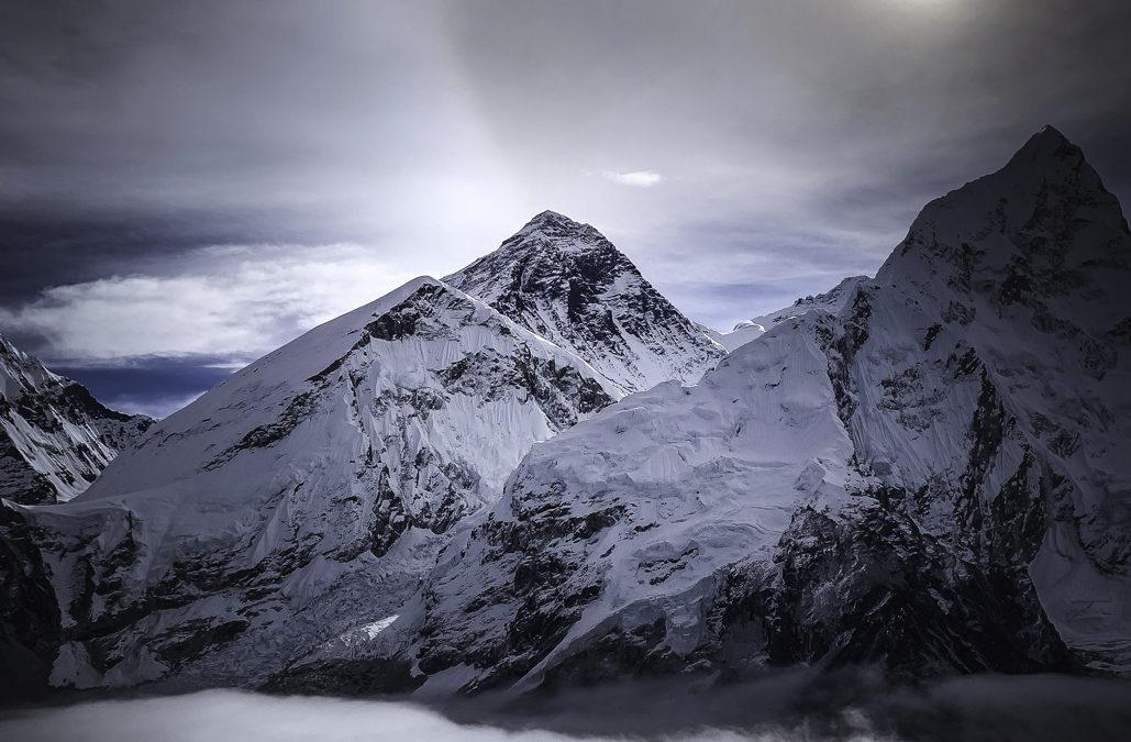 Mount Everest Basläger Hösten 2022
