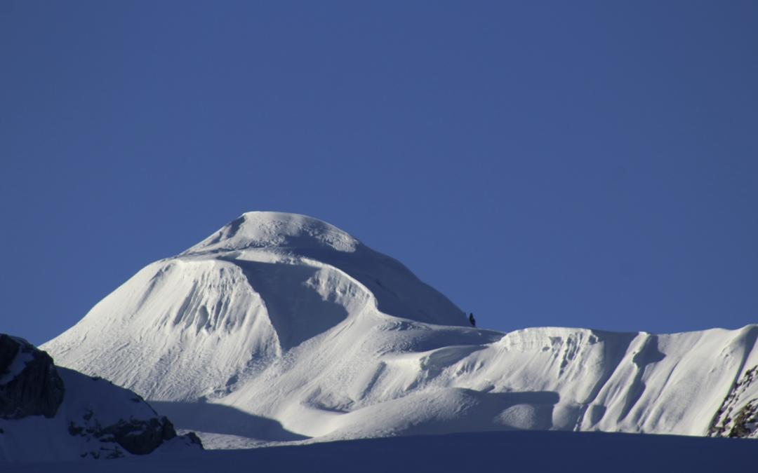 Mount Ramdung Hösten 2021